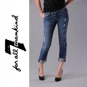 7 FOR ALL MANKIND JOSEFINA BOYFRIEND STRAIGHT LEG